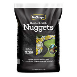 NuScape  Black  Rubber  Nuggets  0.8 cu. ft.