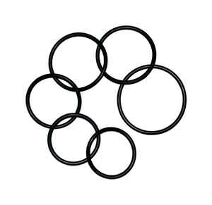 Danco  2.62 in. Dia. x 2-1/4 in. Dia. Rubber  Assorted O-Ring  6 pk