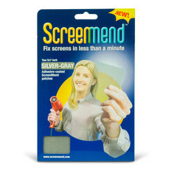 ScreenMend  Gray  Fiberglass  Screen Repair Patch  2 in. W x 80 in. L
