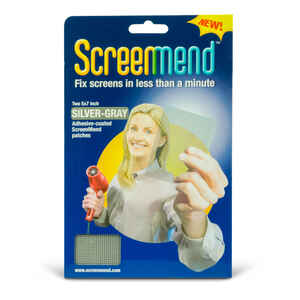 ScreenMend  Gray  Screen Patch  96 in. L 1 pk