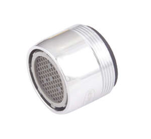 Whedon  SaverAerator  Faucet Aerator  15/16 x 27 in.  x 55/64 x 27 in.  Chrome  Silver
