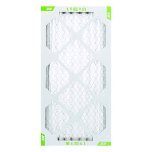 Ace  12 in. W x 20 in. H x 1 in. D Pleated  8 MERV Pleated Air Filter