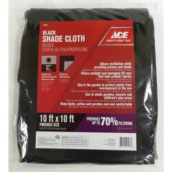 Ace  Polypropylene  Shade Cloth  10 ft. W x 10 ft. L