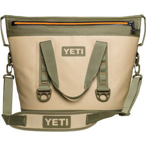 YETI  Hopper Two 30  Cooler Bag  24 can capacity Tan  1 pc.