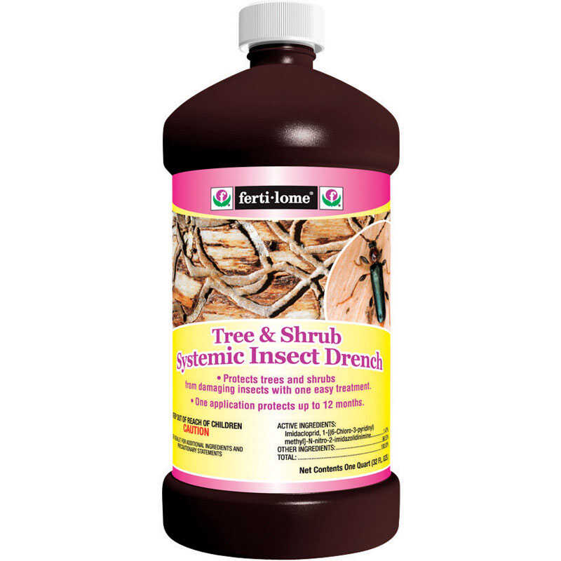 Ferti-Lome  Tree & Shrub Systemic Insect Drench  Insecticide  32 oz.