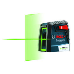 Bosch Self Leveling Green-Beam Cross-Line Laser 40 ft.