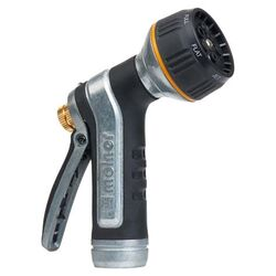Melnor  7 pattern Adjustable Multi-Pattern  Metal  Heavy-Duty Hose Nozzle