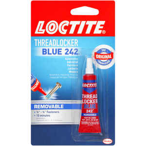 Loctite  Nut & Bolt  Medium Strength  Liquid  Automotive and Industrial Adhesive  0.2 oz. 1 pk