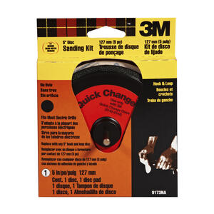 3M  5 in. Aluminum Oxide  Hook and Loop  Sanding Disc  Assorted  1 pk