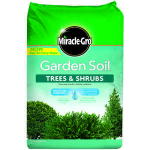 Miracle-Gro  Tree & Shrub  1.5 cu. ft. Garden Soil