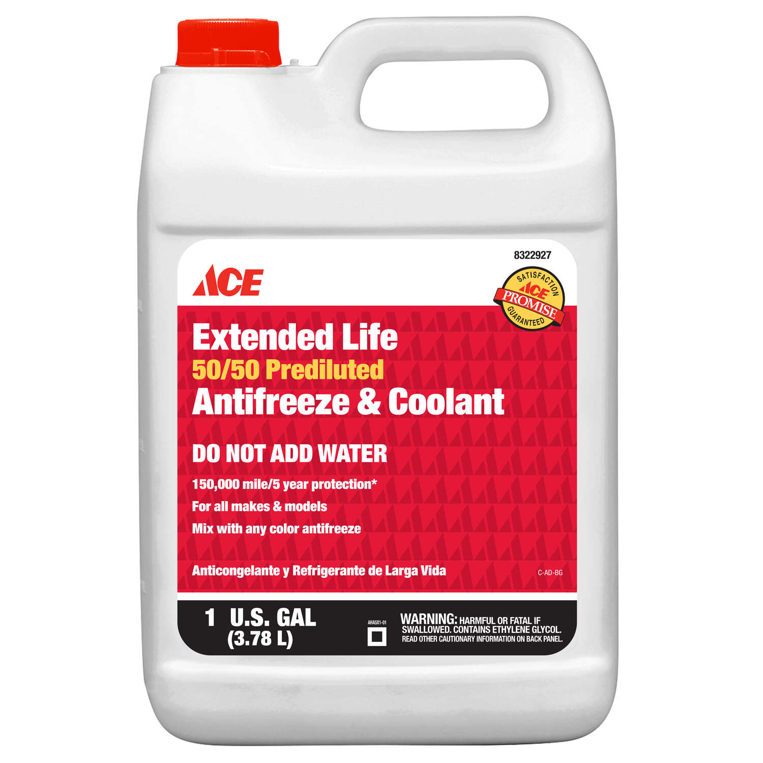 Ace  Antifreeze/Coolant  128 oz.