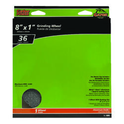 Gator 8 in. Dia. x 1 in. thick x 1 in. Grinding Wheel 1 pc.