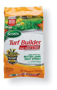Scotts  Turf Builder  28-0-6  Weed and Feed  For All Grass Types 15.5 lb. 5000 sq. ft.