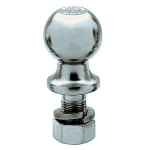 Reese  Towpower  Chrome Plated Steel  Standard  2-5/16 in. Trailer Hitch Ball