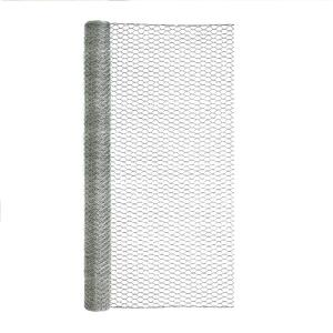 Garden Zone  36 in. H x 25 ft. L 20 Ga. Silver  Poultry Netting