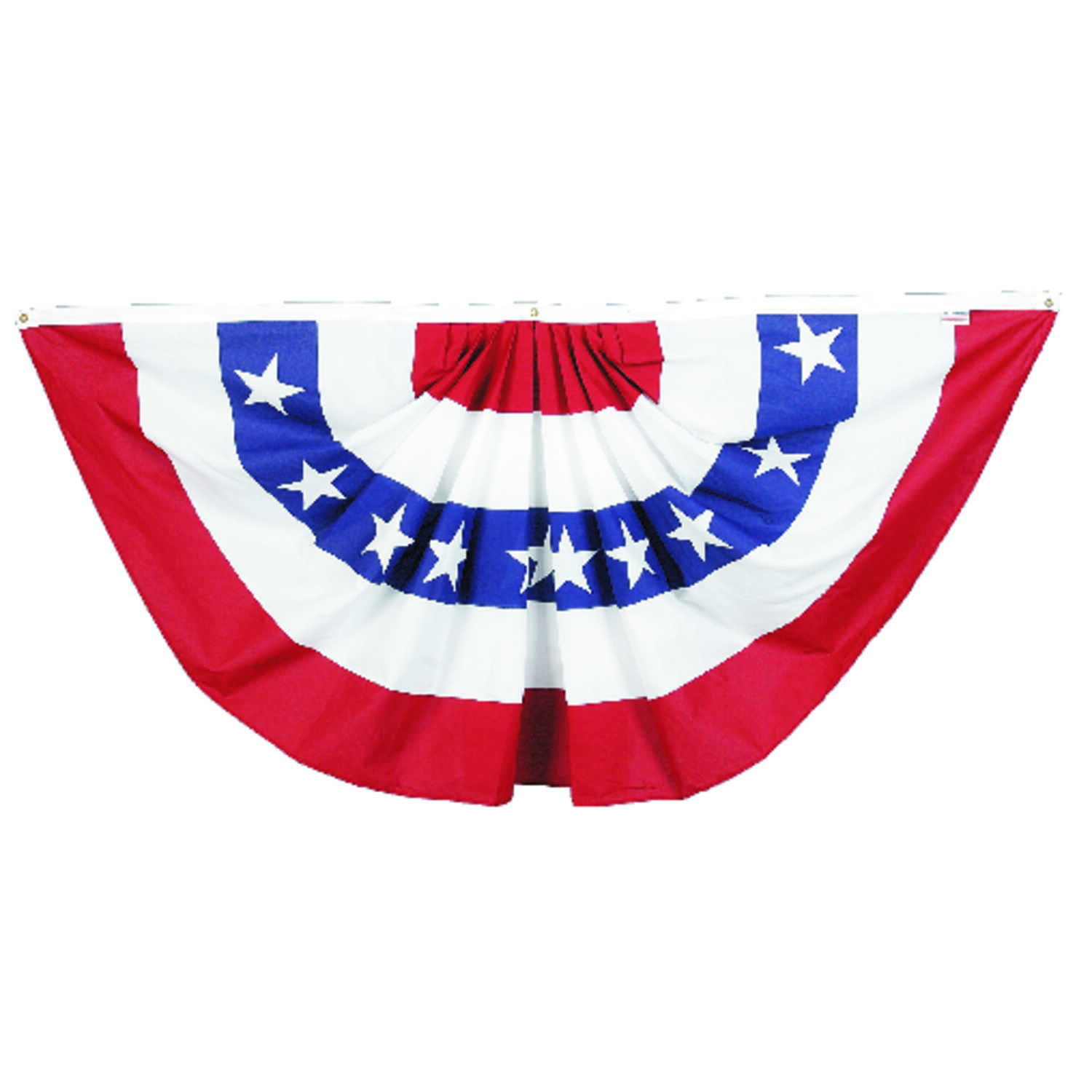 Valley Forge  American  Pleated Flag  36 in. H x 72 in. W