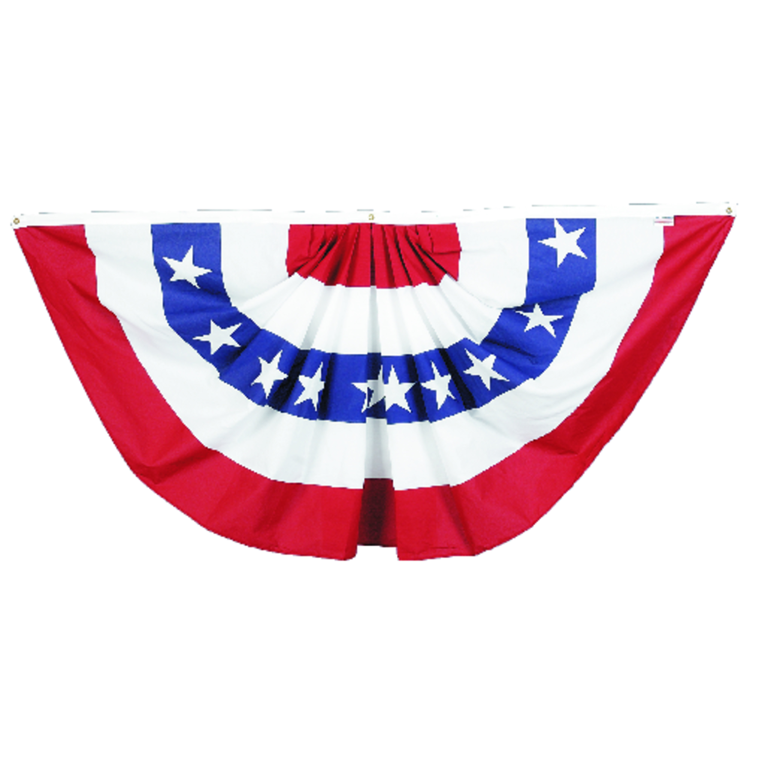 Valley Forge American Pleated Flag 36 In. H X 72 In.