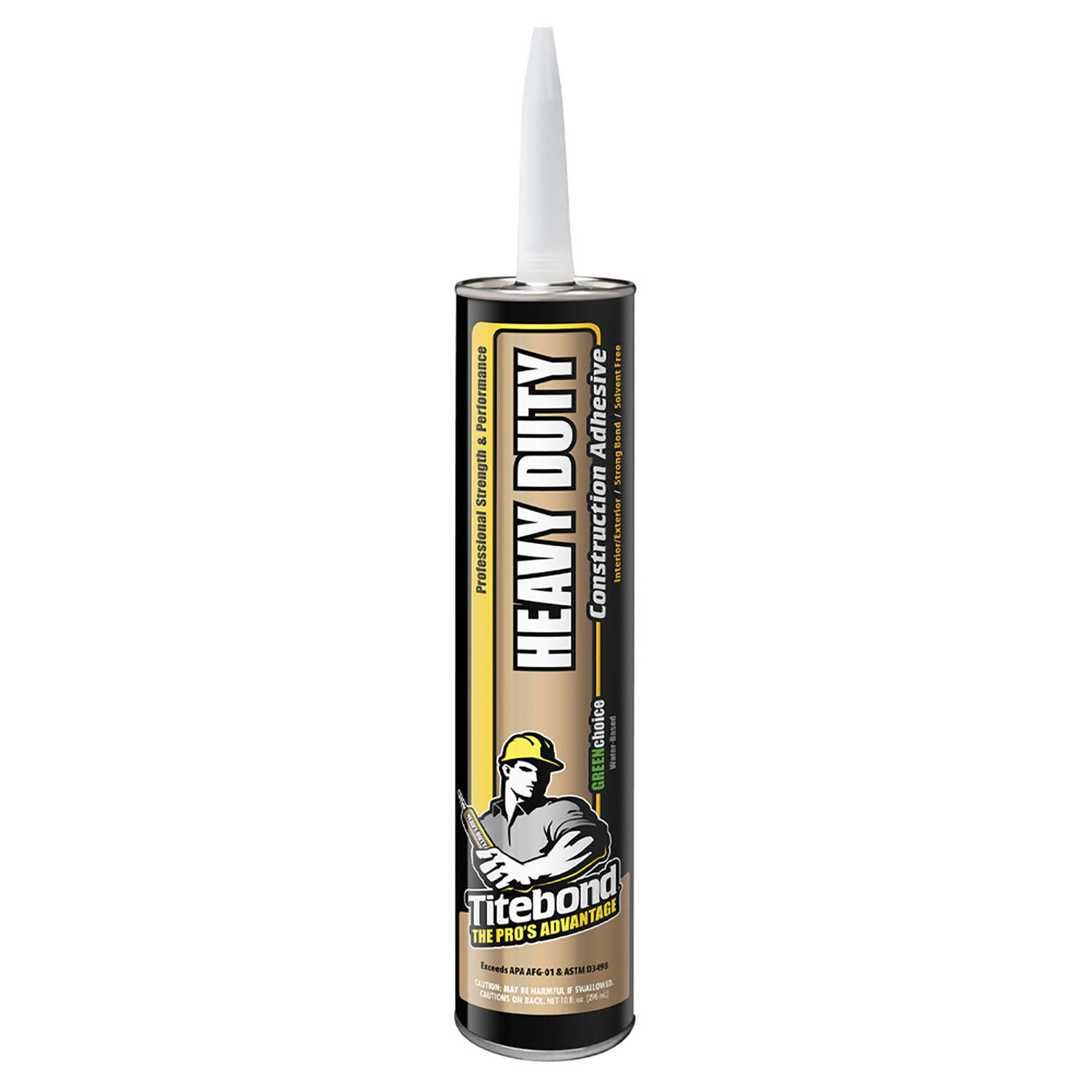 Titebond  GREENchoice  Polyurethane  Construction Adhesive  10.5 oz.