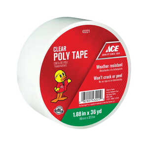 Ace  108 ft. L x 1.88 in. W Duct Tape  Clear