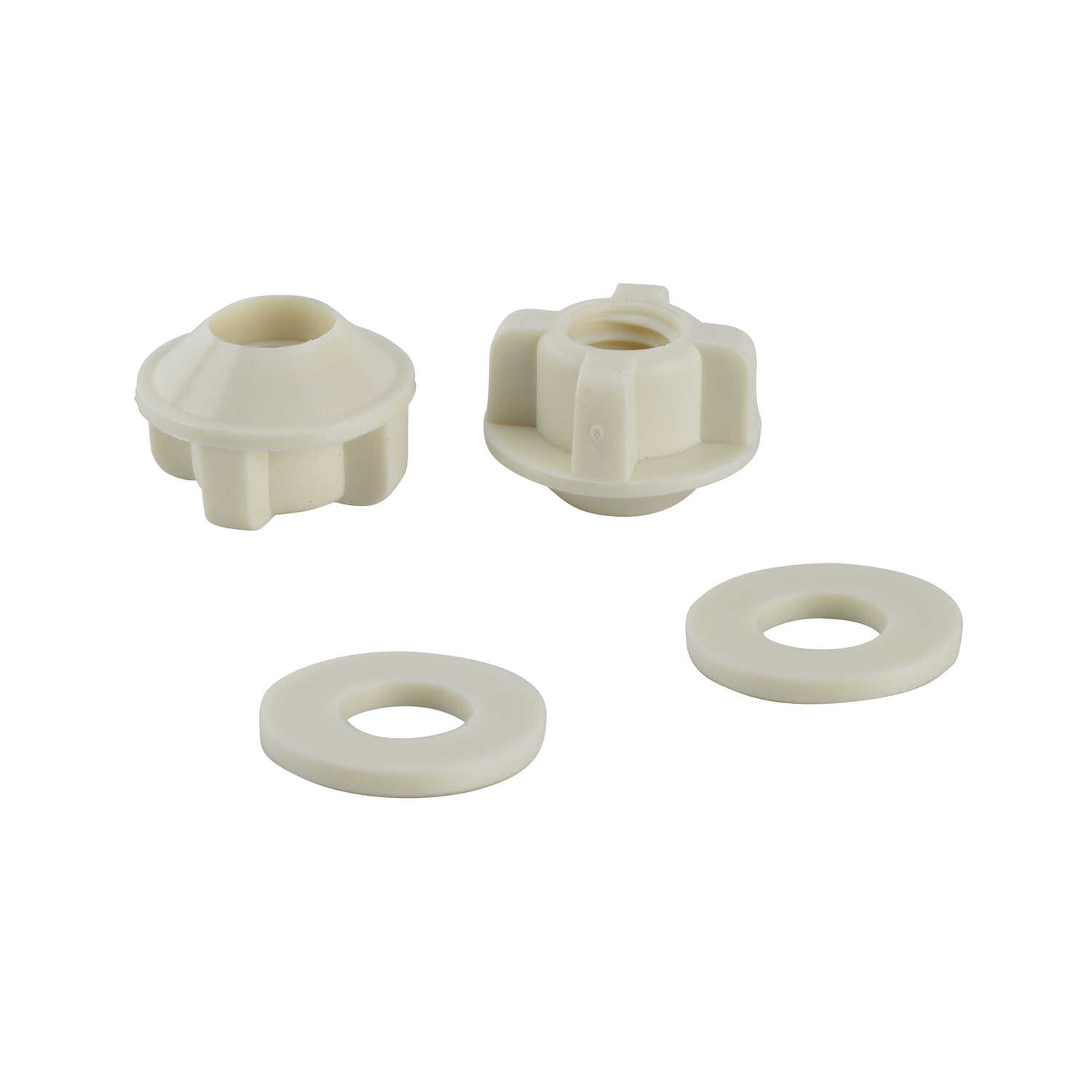 Ace  Toilet Seat Nut And Washer  Plastic