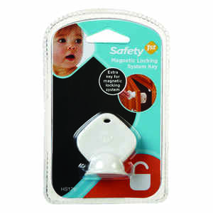 Safety 1st  White  Plastic  Cabinet Lock Key  1 pk