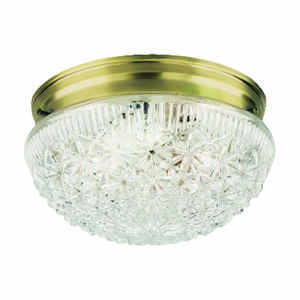 Westinghouse  5-1/2 in. H x 9-1/2 in. W x 9.5 in. L Ceiling Light