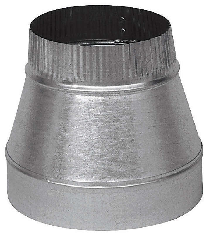 Imperial  6 in. Dia. x 3 in. Dia. Galvanized Steel  Furnace Pipe Reducer