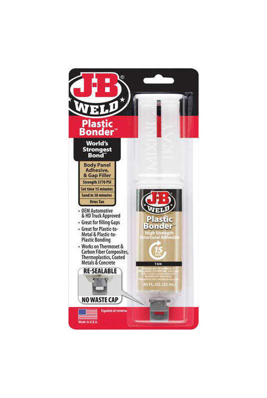 J-B Weld  High Strength  Liquid  Plastic Bonder  0.85 oz.