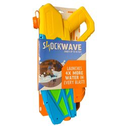 Water Sports  Multicolored  Plastic  Shockwave  Water Gun