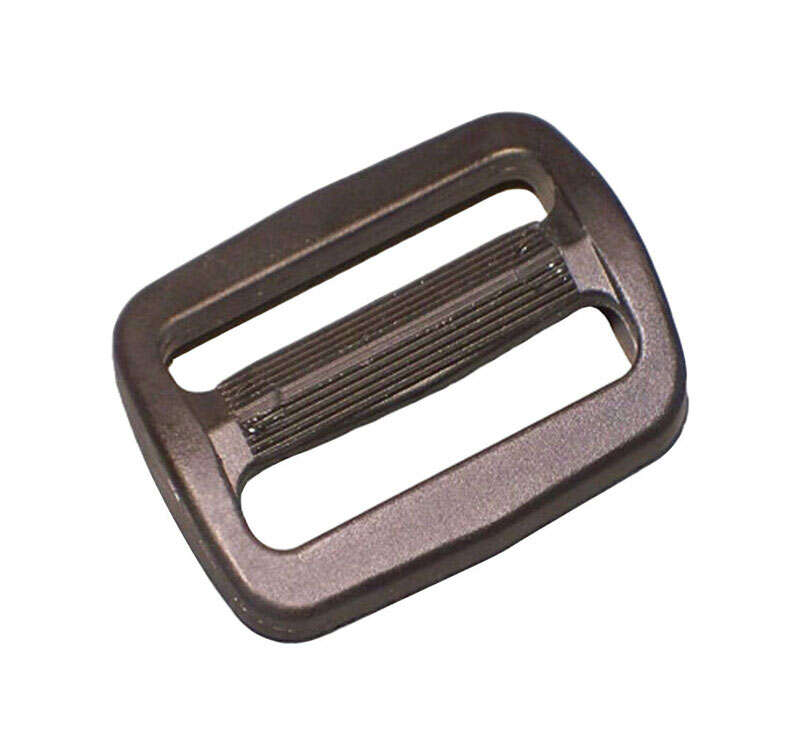 Bulk-Strap  1.5 in. L Black  Slip-Lok Buckle  40 lb. 1 pk