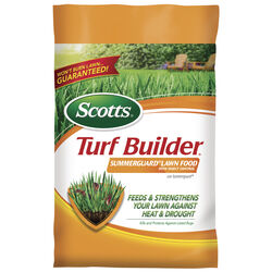 Scotts  Turf Builder Summerguard  20-0-8  Lawn Food  For All Grass Types 14.59 lb. 5000 sq. ft.
