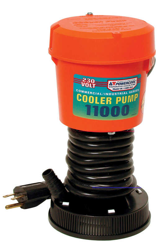 Dial  Powercool  Plastic  Orange  Evaporative Cooler Pump