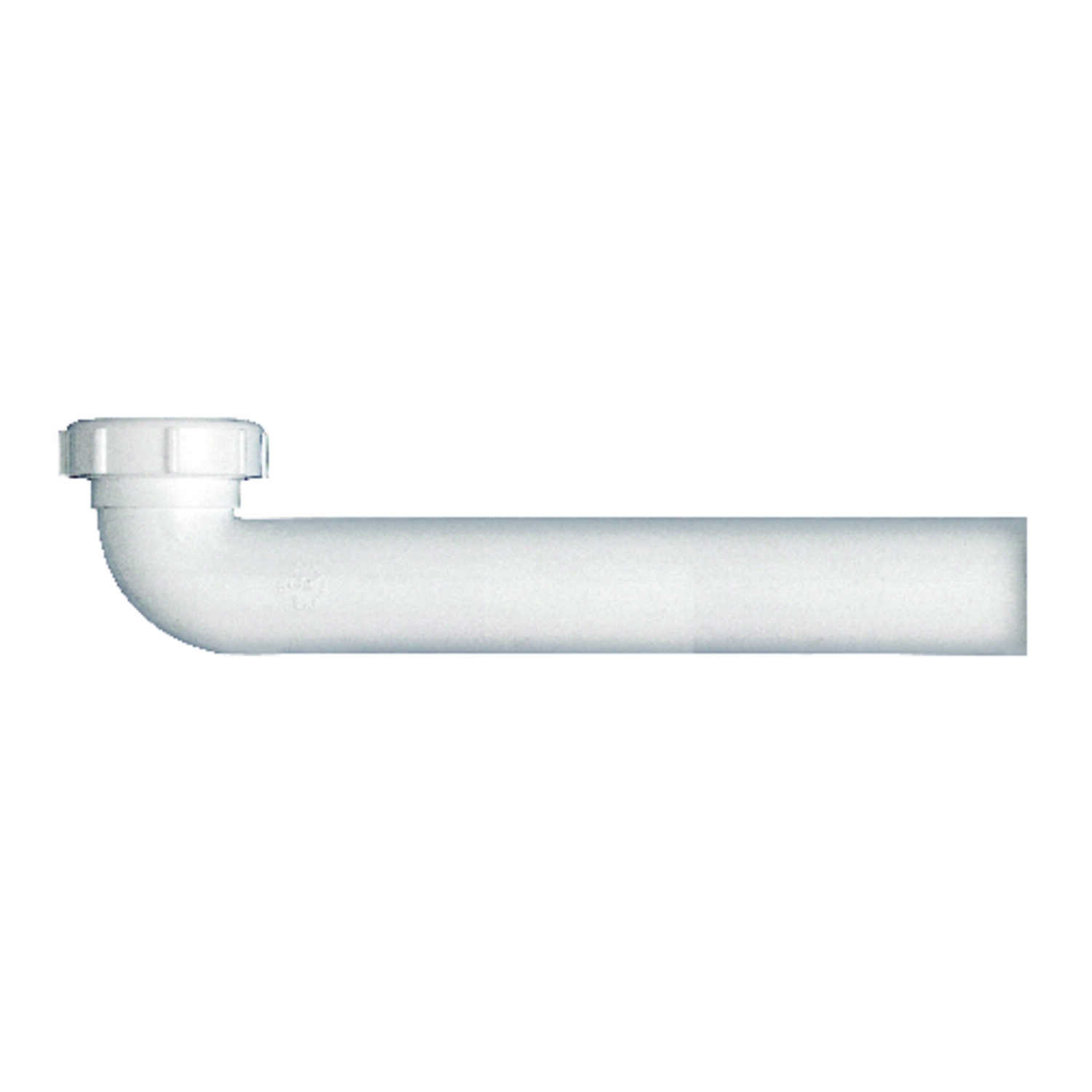 Ace  1-1/2 in. Dia. x 9-1/2 in. L Plastic  Waste Arm