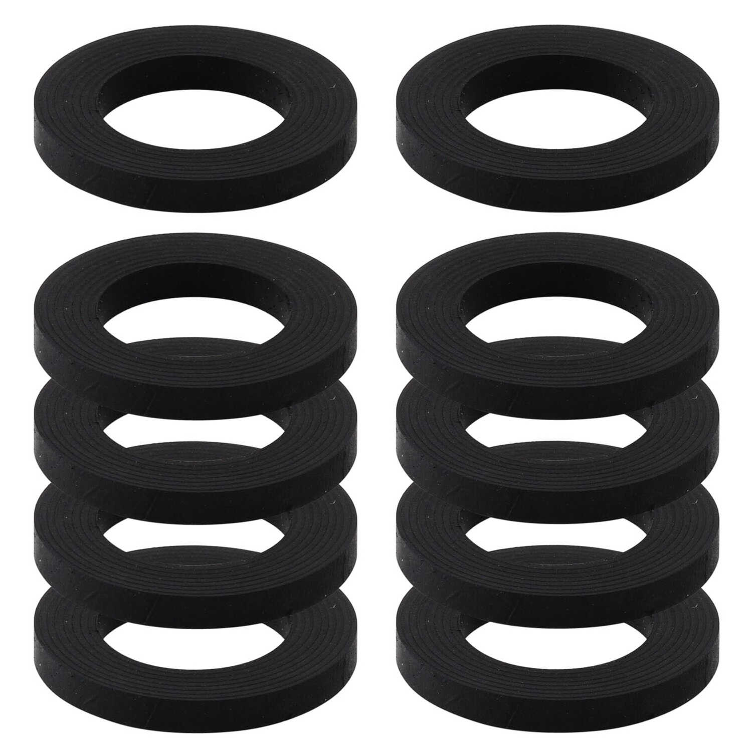 LDR  3/4 in. Dia. Rubber  Hose Washer  10 pk