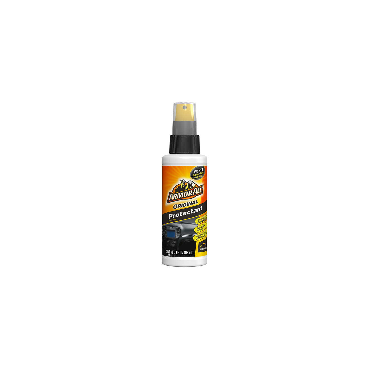 Armor All  Original  Plastic/Rubber  Protectant  4 oz. Bottle