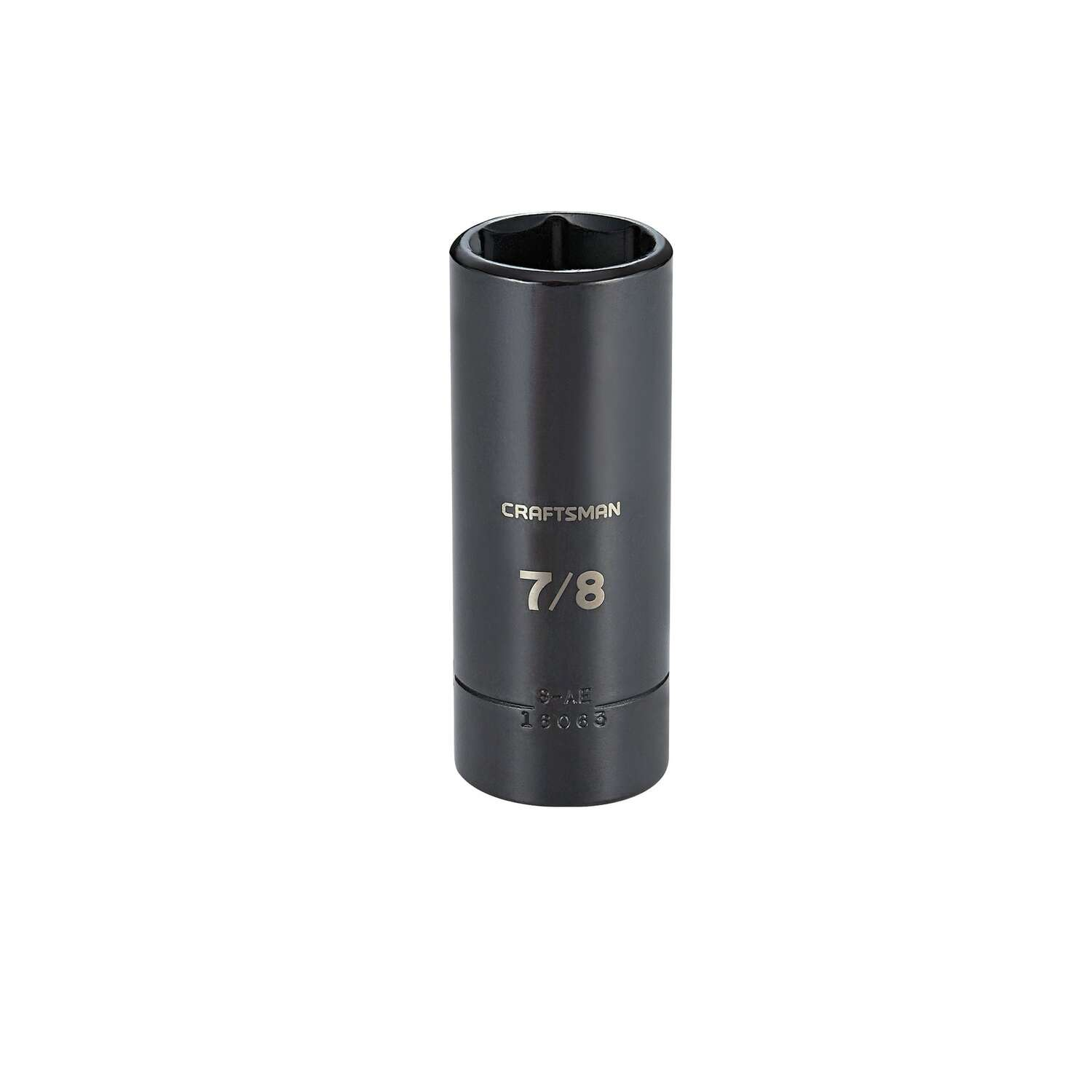 Craftsman 7/8 in. x 1/2 in. drive SAE 6 Point Deep Deep Impact Socket 1 pc.