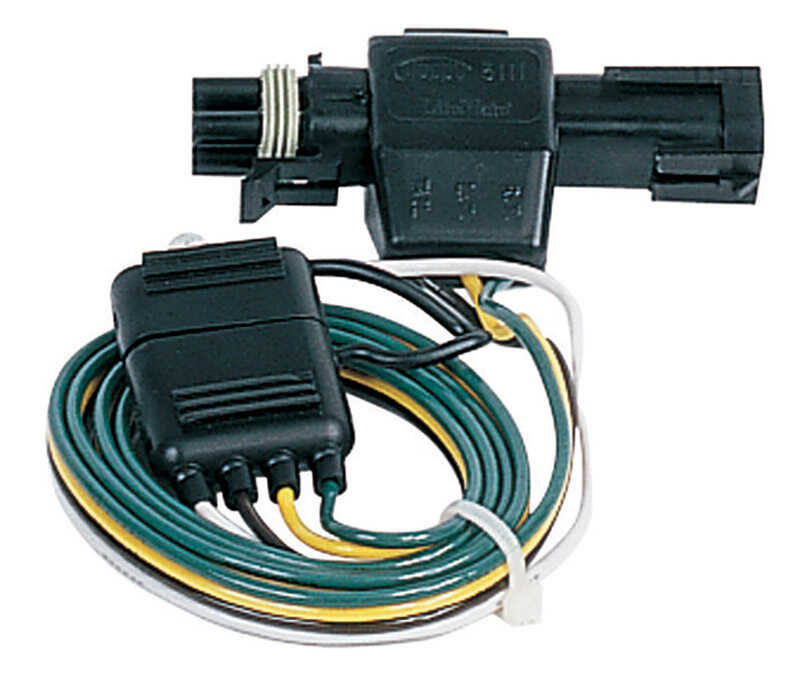 Plug-In Simple  8.9 in. Trailer Connector