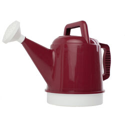 Bloem  Red  2.5 gal. Plastic  Watering Can