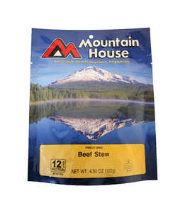 Mountain House  Beef Stew  Freeze Dried Food  4.3 oz. Pouch