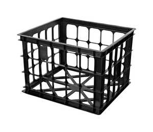 Homz  11 in. H x 15.5 in. W x 14 in. D Stackable Storage Bin
