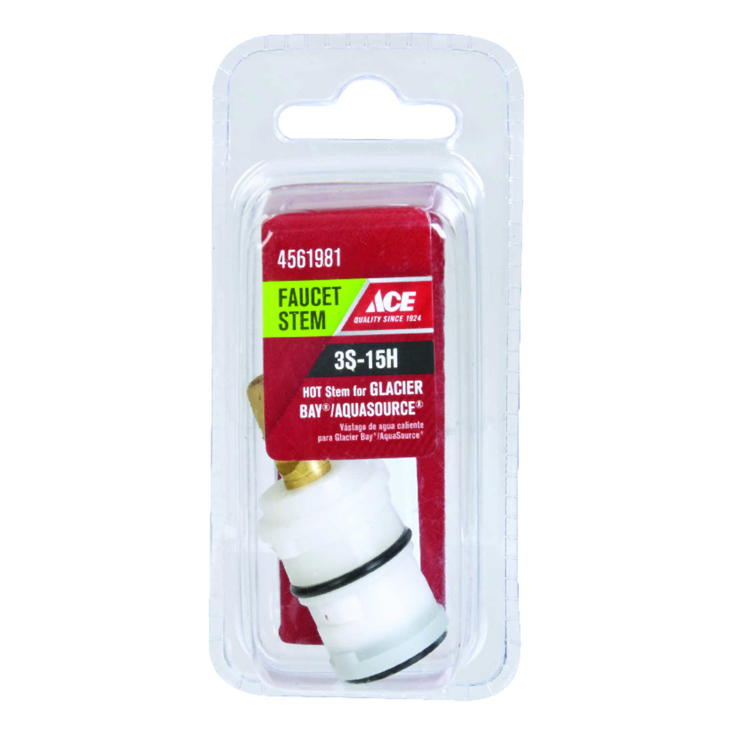 Ace  Hot  3S-15H  Faucet Stem  For Glacier Bay & Aquasource
