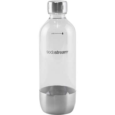 SodaStream  Classic  Silver  1 L Carbonator Bottle