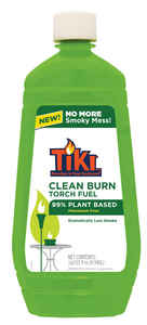 Tiki  Clean Burn  Torch Fuel  Green  32 oz.