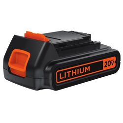 Black and Decker  20 volt 1.5 Ah Lithium-Ion  Battery  1 pc.