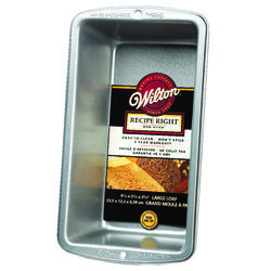 Wilton 5-1/4 in. W x 9-1/4 in. L Loaf Pan Silver 1
