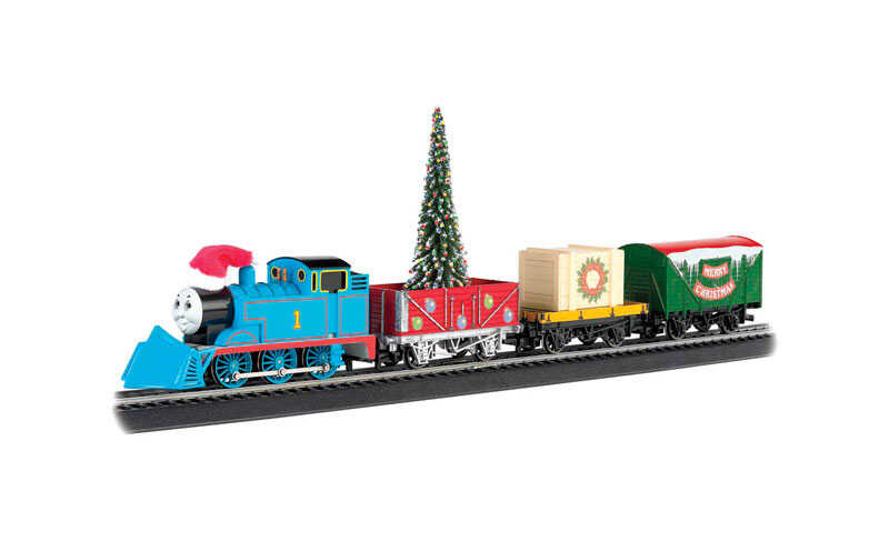 Bachmann  Thomas' Christmas Express  Train Set  Plastic/Steel