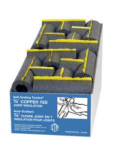 Tundra  Self Sealing 9.5  L Polyethylene Foam  Pipe Insulation