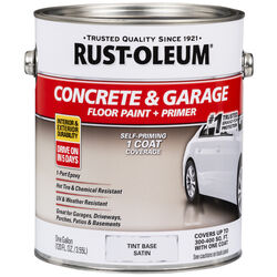Rust-Oleum Satin Tint Base Acrylic Concrete & Garage Floor Paint 1 gal.