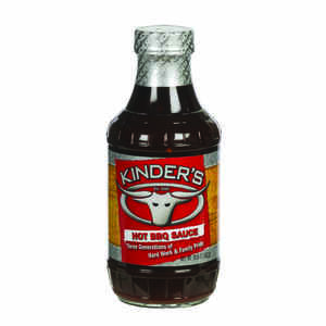 Kinder's  Hot  BBQ Sauce  20.5 oz.