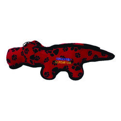 Chomper  Assorted  Alligator  Nylon/Plush  Tuff Alligator  Large